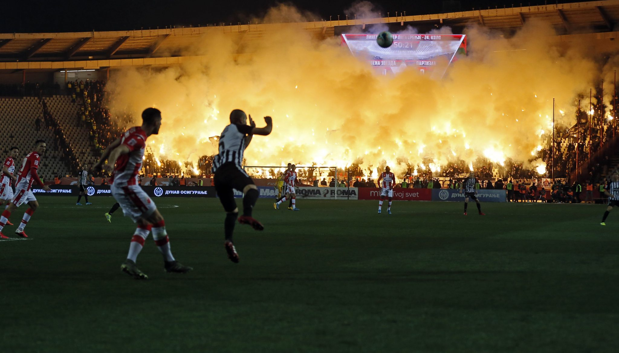 Reports : Partizan vs Red Star